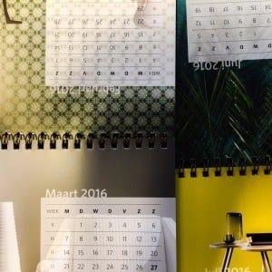 Staankalenders, ons ding