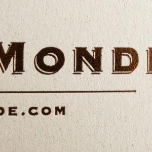 Ethnicraft & Notre Monde, Foliedruk